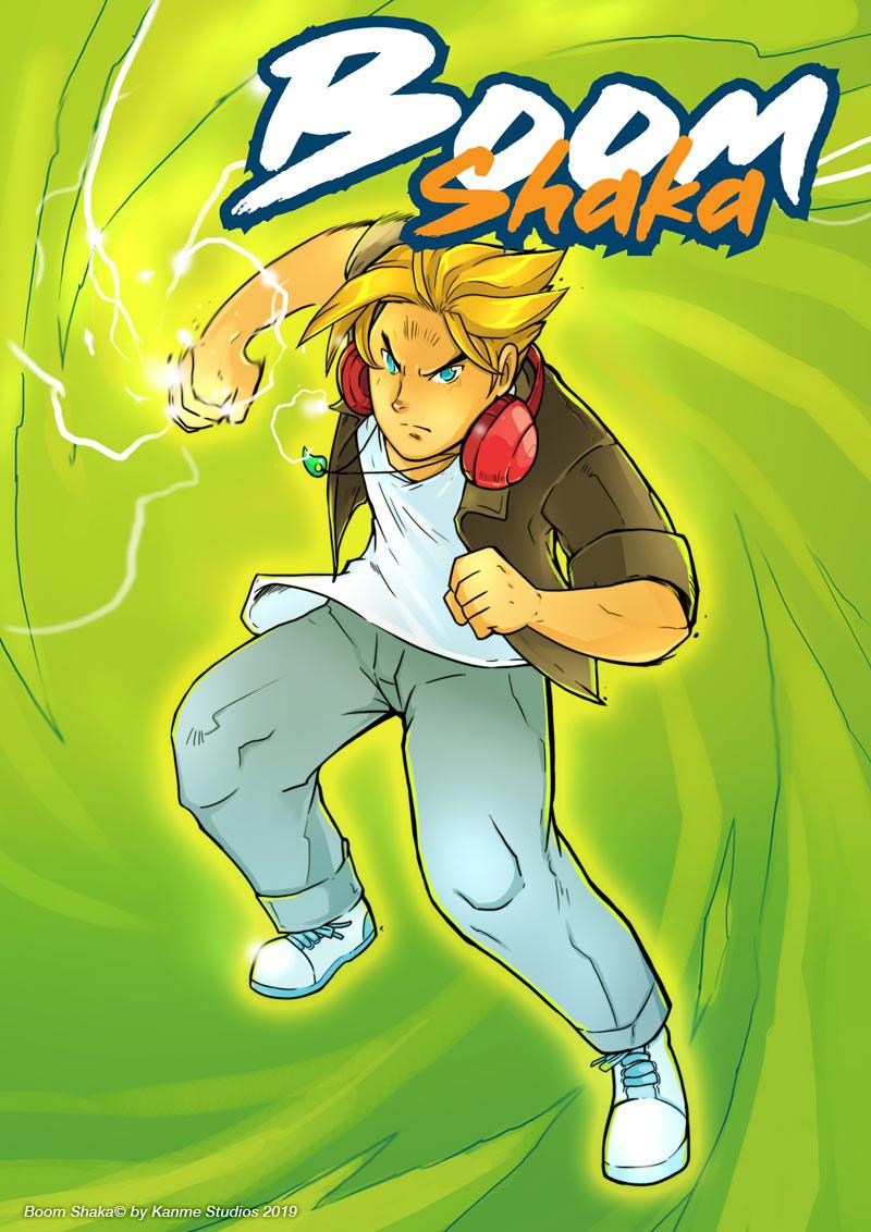 Boom Shaka: Prologue Cover